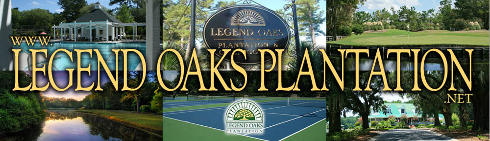 Legend Oaks Plantation, Summerville, SC Real Estate header